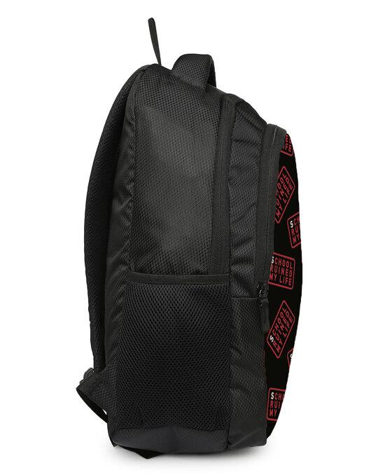 Shop School Printed 23 Litre Backpack-Design