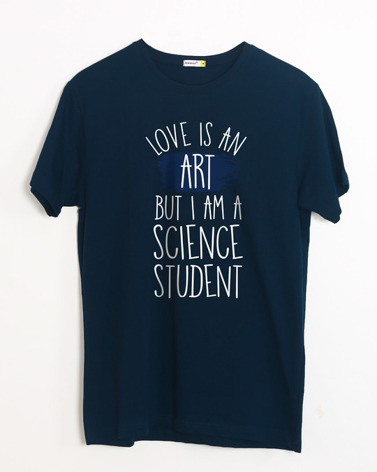 Shop Science Student Half Sleeve T-Shirt-Front