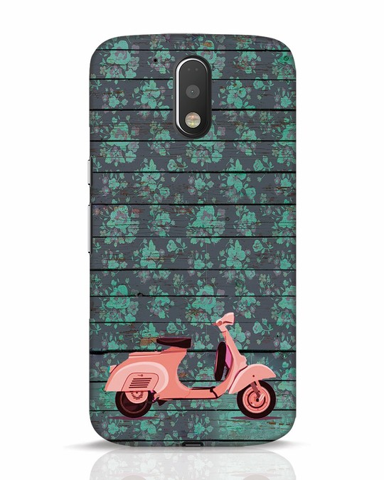 Shop Scooty Moto G4 Plus Mobile Cover-Front