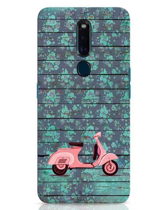 Shop Scooty Oppo F11 Pro Mobile Cover-Front
