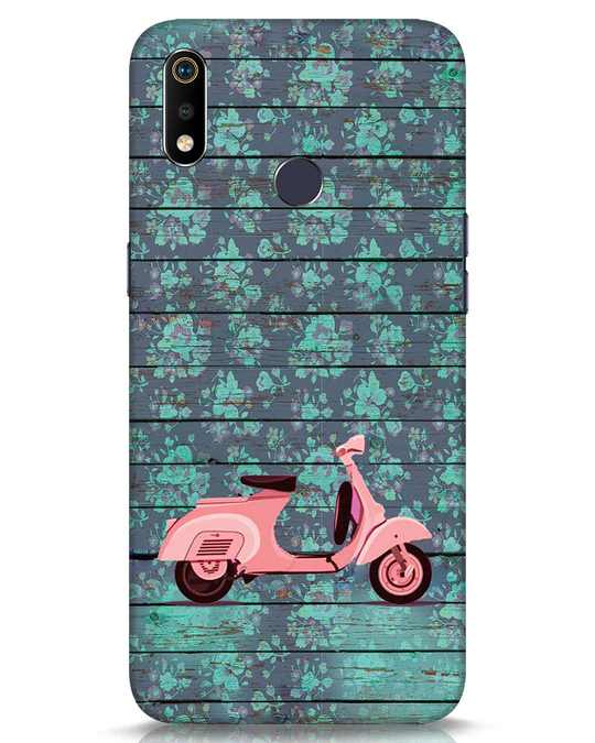 Shop Scooty Realme 3i Mobile Cover-Front