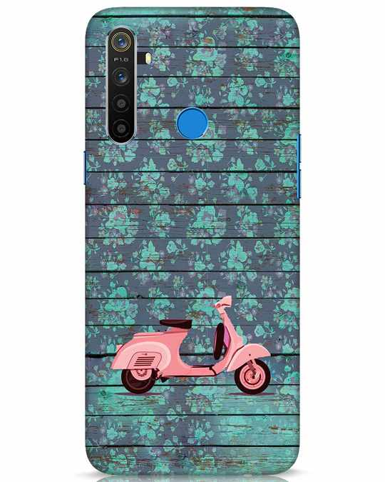 Shop Scooty Realme 5 Mobile Cover-Front