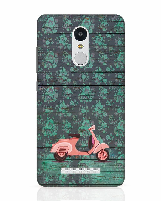 Shop Scooty Xiaomi Redmi Note 3 Mobile Cover-Front