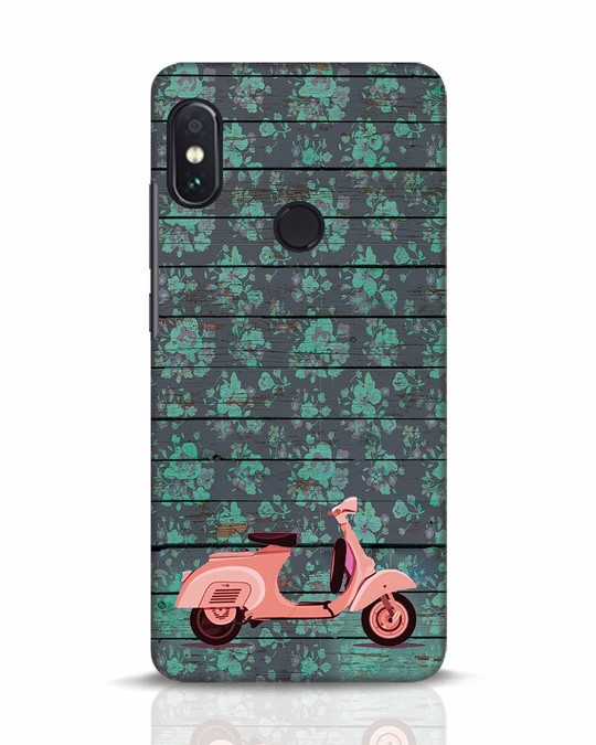 Shop Scooty Xiaomi Redmi Note 5 Pro Mobile Cover-Front