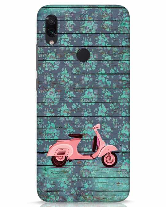 Shop Scooty Xiaomi Redmi Note 7s Mobile Cover-Front