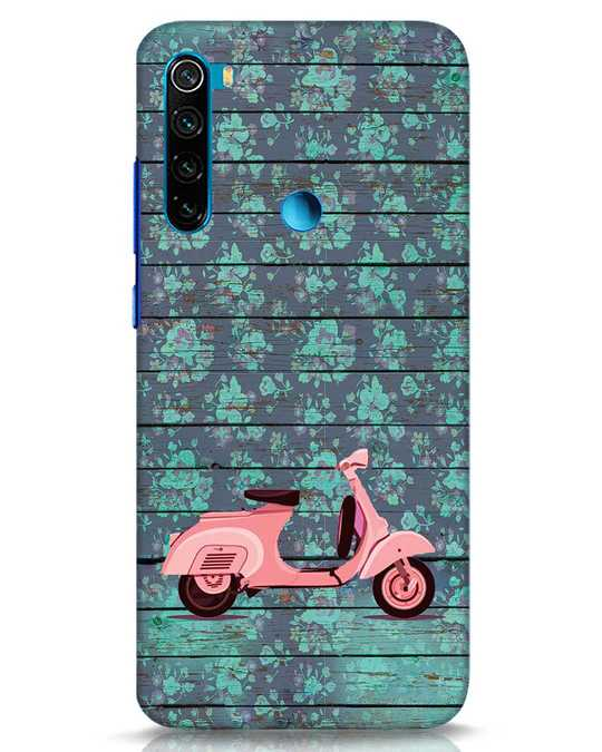 Shop Scooty Xiaomi Redmi Note 8 Mobile Cover-Front