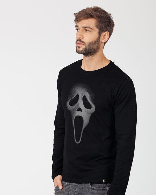 Shop Scream Mask Full Sleeve T-Shirt-Back