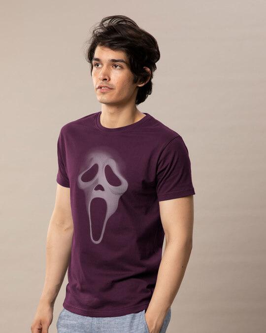 Shop Scream Mask Half Sleeve T-Shirt-Full