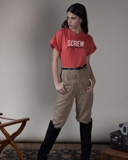 Shop Screw Perfection Boyfriend T-Shirt-Full