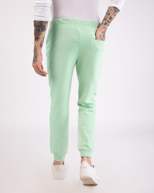 Shop Sea Green Casual Jogger Pants-Design