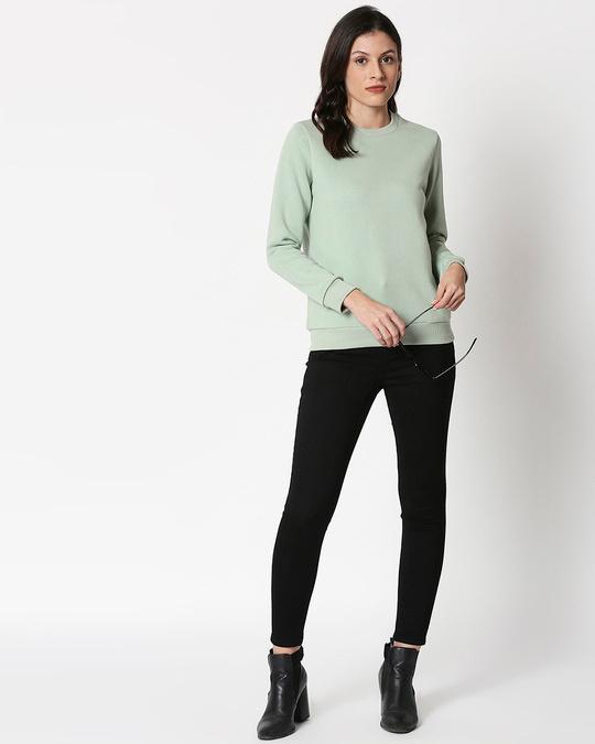 Shop Sea Green Sweatshirt