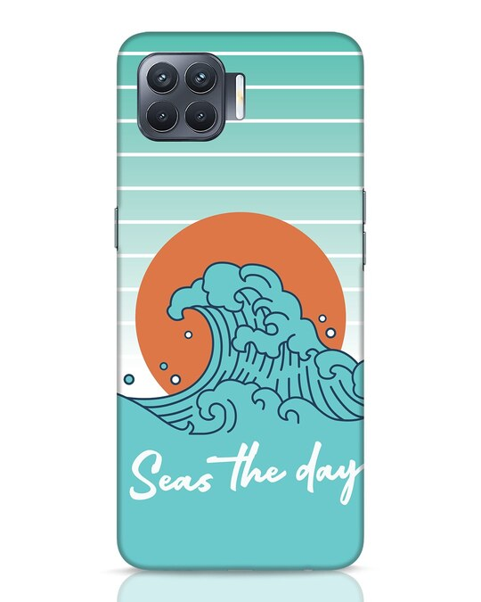 Shop Seas The Day Oppo F17 Pro Mobile Cover-Front