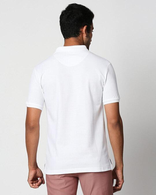 Shop Seashell White Classic Polo-Design