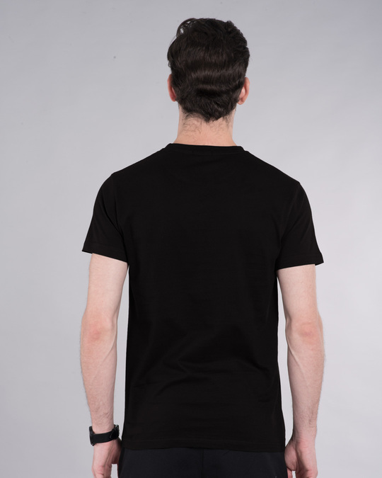 Shop See The Unseen Half Sleeve T-Shirt-Back