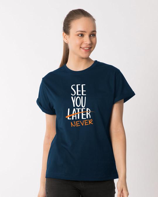 Shop See You Never Boyfriend T-Shirt-Front