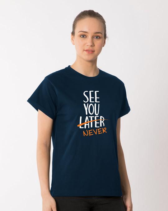 Shop See You Never Boyfriend T-Shirt-Back