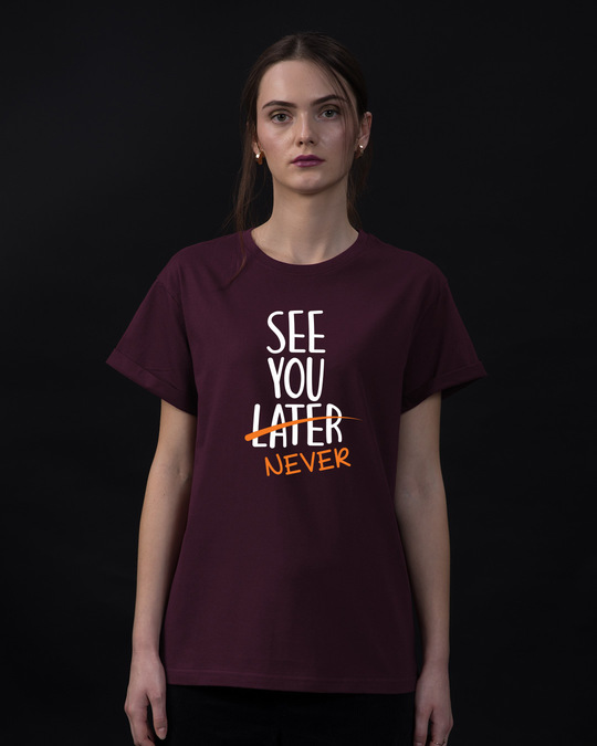Shop See You Never Boyfriend T-Shirt-Front