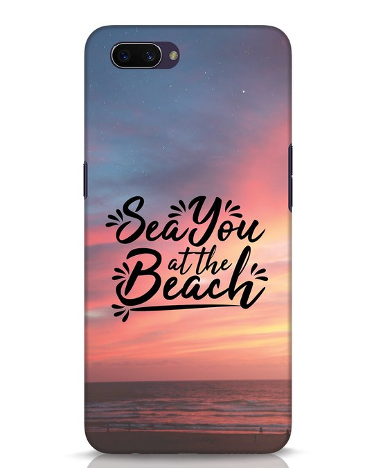 Shop See You Oppo A3S Mobile Cover-Front