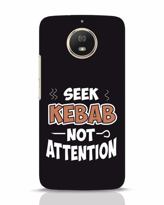Shop Seek Kebab Moto G5s Mobile Cover-Front