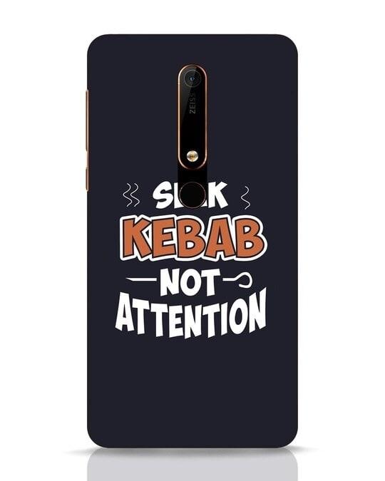 Shop Seek Kebab Nokia 6.1 Mobile Cover-Front