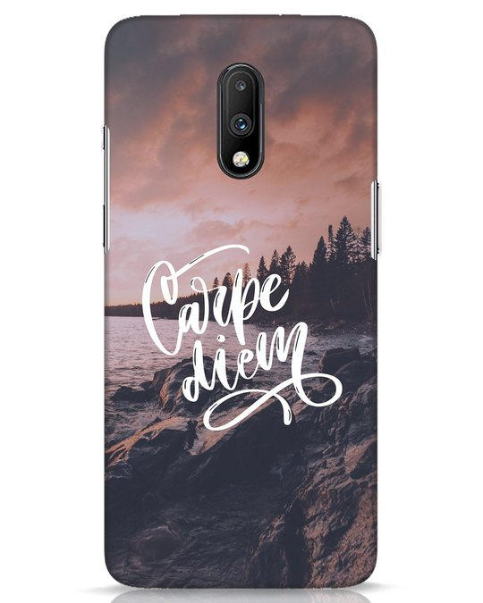 Shop Seize The Day OnePlus 7 Mobile Cover-Front