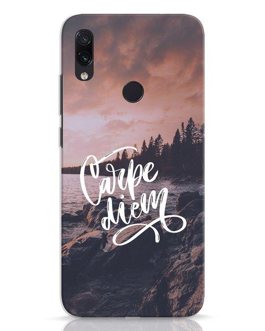 Shop Seize The Day Xiaomi Redmi Note 7 Mobile Cover-Front