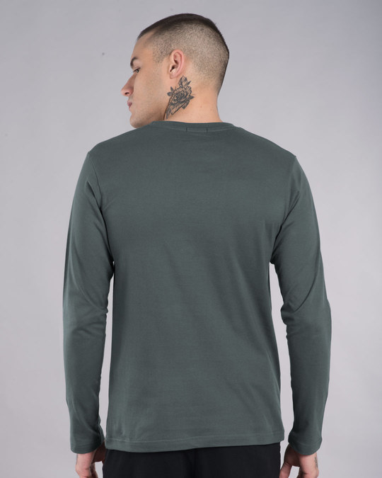 Shop Self Inspired Tick Full Sleeve T-Shirt-Full