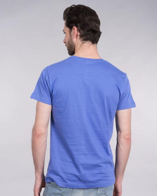 Shop Self Inspired Tick Half Sleeve T-Shirt-Back