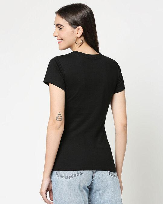 Shop Self love Jerry Half Sleeve Printed T-Shirt Black (TJL)-Design