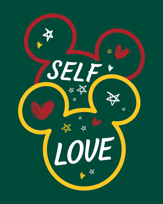 Shop Self Love Minnie 3/4th Sleeve T-Shirt (DL)