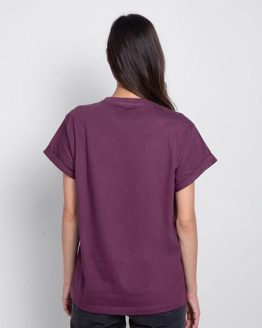 Shop Self Love Repeat Boyfriend T-Shirt-Back