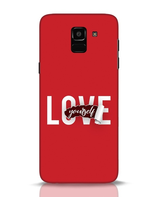 Shop Self Love Samsung Galaxy J6 Mobile Cover-Front