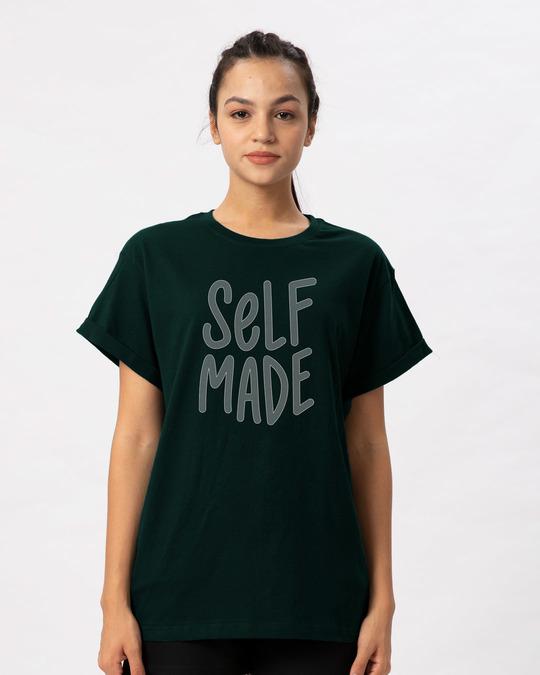 Shop Self Made Boyfriend T-Shirt-Front