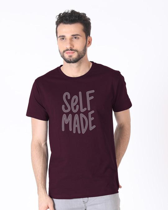 Shop Self Made Half Sleeve T-Shirt-Back