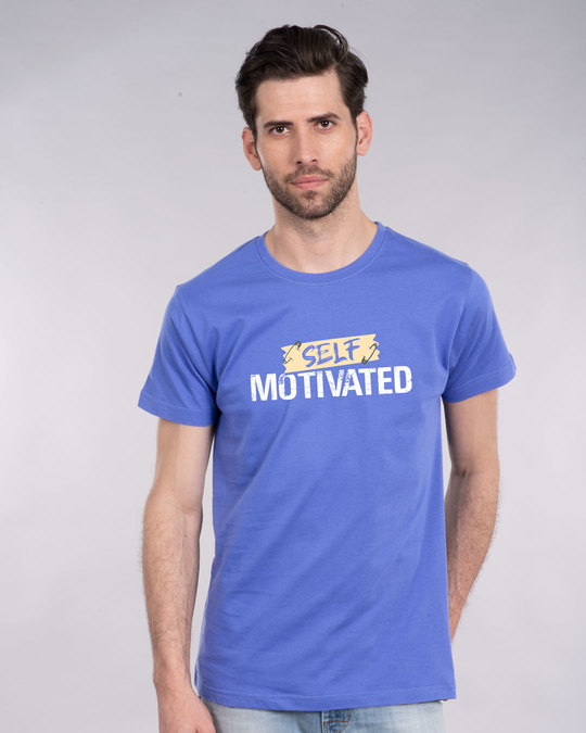 Shop Self Motivated Half Sleeve T-Shirt-Back
