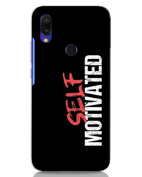 Shop Self Motivated Xiaomi Redmi 7 Mobile Cover-Front