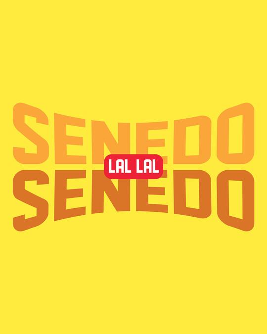 Shop Senedo Full Sleeve T-Shirt Pineapple Yellow-Full
