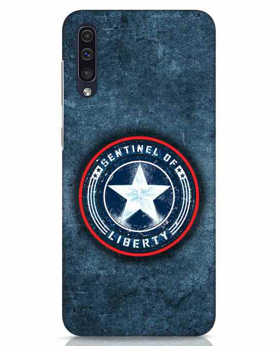 Shop Sentinel Of Liberty Samsung Galaxy A50 Mobile Cover (AVL)-Front