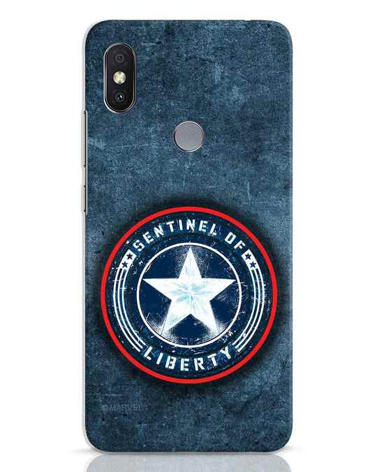 Shop Sentinel Of Liberty Xiaomi Redmi Y2 Mobile Cover (AVL)-Front