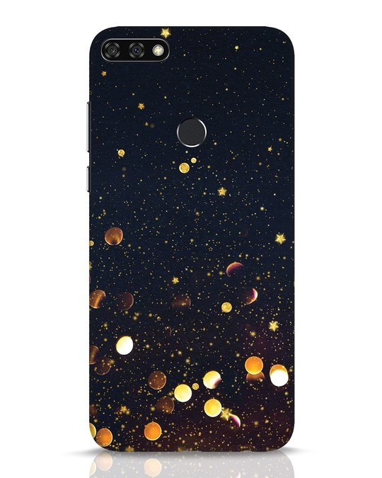 Shop Sequins Huawei Honor 7C Mobile Cover-Front