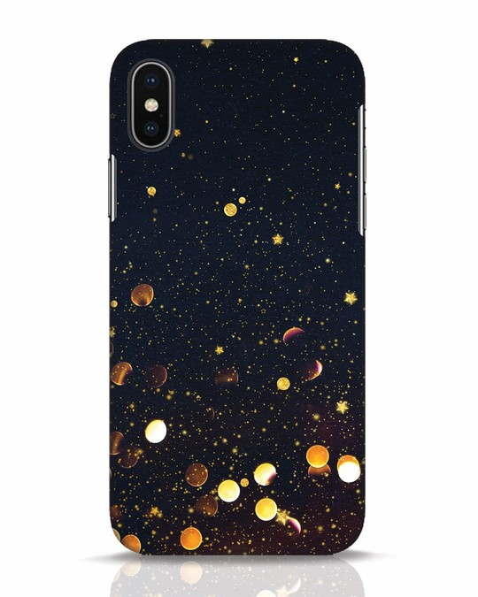 Shop Sequins iPhone X Mobile Cover-Front