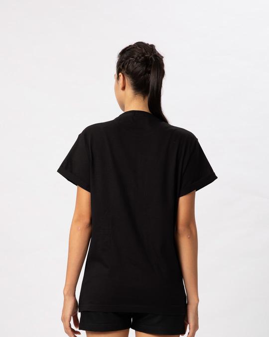 Shop Sequins Mickey Boyfriend T-Shirt (DL)-Back