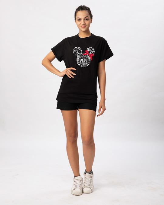 Shop Sequins Mickey Boyfriend T-Shirt (DL)-Design