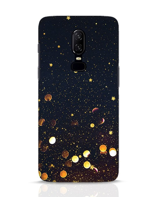Shop Sequins OnePlus 6 Mobile Cover-Front