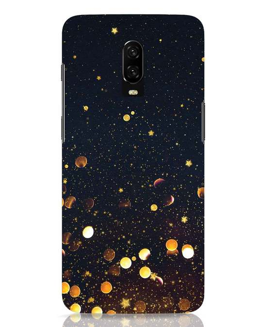 Shop Sequins OnePlus 6T Mobile Cover-Front