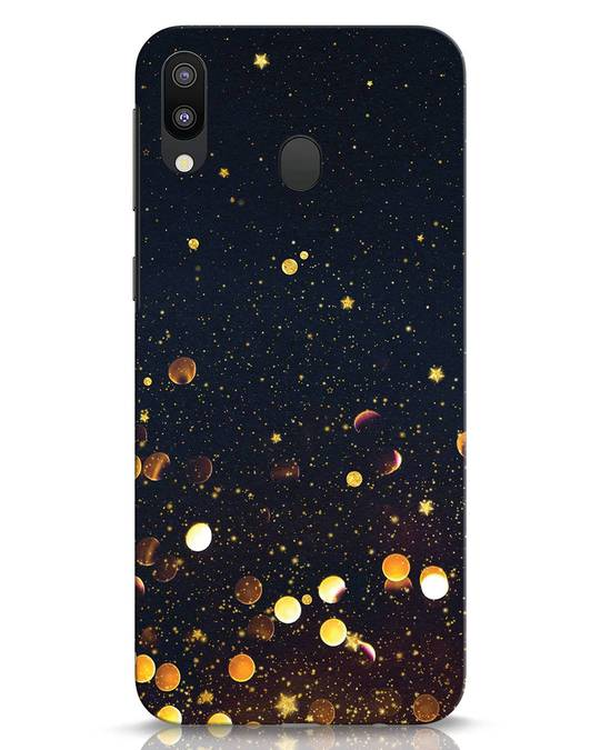 Shop Sequins Samsung Galaxy M20 Mobile Cover-Front