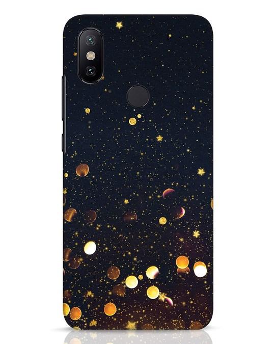Shop Sequins Xiaomi Mi A2 Mobile Cover-Front