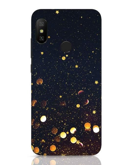 Shop Sequins Xiaomi Redmi 6 Pro Mobile Cover-Front