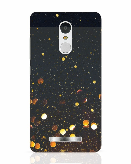 Shop Sequins Xiaomi Redmi Note 3 Mobile Cover-Front