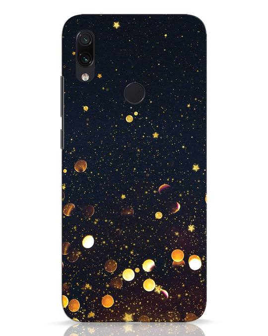 Shop Sequins Xiaomi Redmi Note 7 Mobile Cover-Front